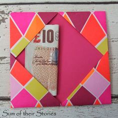 Origami Wallet on Pinterest | Origami, Fabric Origami and Origami ...