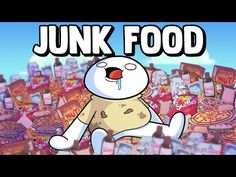 Junk Food - YouTube Food Pictures, Funny Pictures, All American Food, Jaiden Animations, The Perfect Dog, Dog List, Shelter Dogs, Shelters, Logo Food