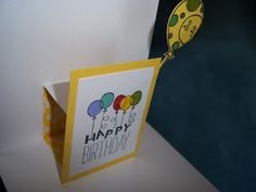 Pop Up card on the inside