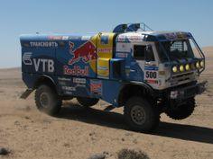Dakar Rally Unimog truck