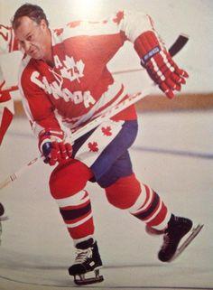 Gordie Howe on Team Canada greatest hockey player ever!