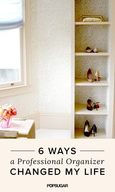 Here are the six shockingly simple yet effective ways a professional organizer helped me regain control of my bedroom clutter.