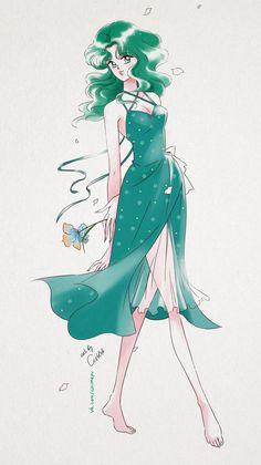 KaleidoscopeKingdoms — sailor-moon-rei: by ASH Sailor Moon Crystal, Sailor Moon Fan Art, Sailor Moon Character, Sailor Moon Manga, Sailor Neptune, Sailor Jupiter, Sailor Mars, First Animation, Sailor Scouts