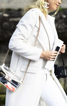 Wondering about spring handbag trends? Well, this was just declared THE bag for spring