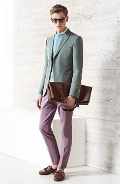 Janis Ancens for Gucci men's cruise 2015