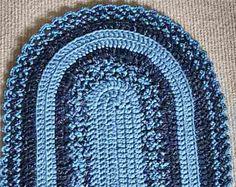 Tappeto Ovale Alluncinetto : 40 fantastiche immagini su tappeti uncinetto crochet carpet
