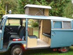 1968 double slide door camper