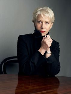 Helen Mirren by Jake Walters.  Excaliber, The Mosquito Coast, The Madness of King George, Teaching Mrs. Tingle, The Debt, State of Play, The Queen...the list goes on and on.  She's fantastic!