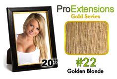 #22 Medium Golden Blonde Pro Cute