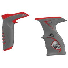 Dye Paintball DM14 Sticky Grip Kit - Grey/Red. Now IN STOCK and READY TO SHIP at Ultimate Paintball!!... http://www.ultimatepaintball.com/p-13861-dye-paintball-dm14-sticky-grip-kit-greyred.aspx