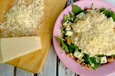 Delicious risotto with two cheeses, check out the recipe on our website!!!