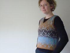 Ravelry: Thistle Vest pattern by Astrid Colding Sivertsen