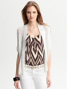 Lightweight cuffed-sleeve open cardigan | Banana Republic---  I can't even handle how much I love this sweater!!!!