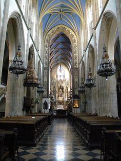 Wnętrze kościoła. #dominikanie #kraków #cracow #kościół #church #klasztor
