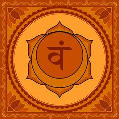 "Chakra sacro: Color naranja, sonido ""re"""