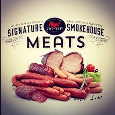 http://www.risingabovethenoise.com/helping-brands-go-viral-the-final-step/ #food #foodbranding #branding #meatlover #logodesign #davidbrier