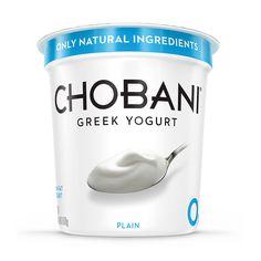 Chobani Plain Greek Yogurt (38 oz.) - Sam's Club