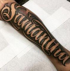 Letter Tattoo On Hand — Hand Tattoos Design Letter Tattoos On Hand, Forearm Name Tattoos, Forarm Tattoos, Hand Tattoos For Guys, Body Art Tattoos, Tatoos, Tattoo Name Fonts, Tattoo Fonts Alphabet, Tattoo Script