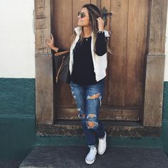 Best Cute Fall Outfits Part 11 Cute Fall Outfits, Fall Winter Outfits, Autumn Winter Fashion, Casual Outfits, Winter Looks, Pulls, Swagg, Casual Looks, Style Me
