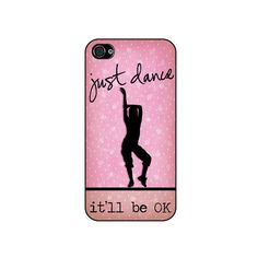 iphone 4 case Just Dance iphone 4/4S case  Pink by CaseHive, $16.99