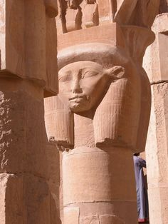 A column from the Temple of Luxor in Egypt