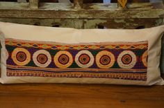 Lumber Pillow made from vintage gypsy belt!!