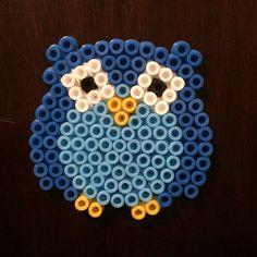 Owl hama perler beads by tottil92