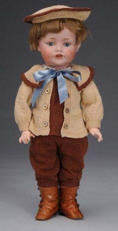 Kestner Character Toddler Boy Doll