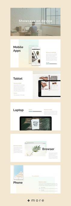 Planner presentation design template : business planner #keynote