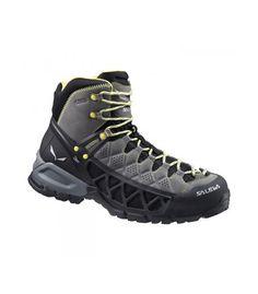 check out 06324 087ae Las botas de montaña para hombre Salewa Ms Alp Flow Mid Gtx están hechas en  cuero