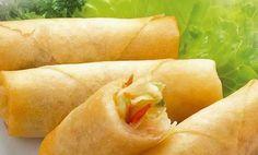 In the #vegan version the much appreciated vegan rolls #Chinese..Vegan #Springrolls