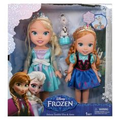 Disney Frozen Toddler 2 Pack with Olaf => Yah, good luck finding this anywhere anytime soon. Boo.