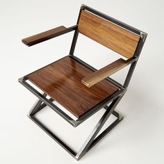 ": D Handmade Furniture ""MiterZ"" Reading Chair"