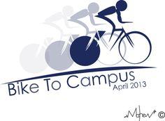 Csusm bike to school logo. Even though i lost i still love my logo