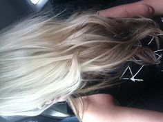 I think I want extensions so I can do this! #love #reverse #ombre