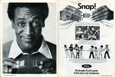 1976 Ford Advertisement with Bill Cosby Hot Rod November 1976 | by SenseiAlan