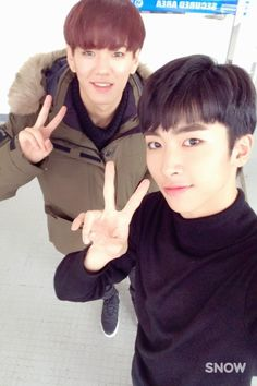 161117 UP10TION Hwanhee & Xiao   #UP10TION #업텐션  #Hwanhee #환희    #Xiao #샤오