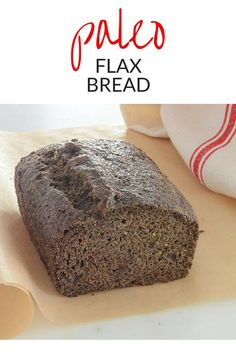 This Paleo Flax Bread recipe has just 7 ingredients –flax, eggs, olive oil, cream of tartar, baking soda, water, and salt. It's a great nut-free paleo bread recipe recipe that's keto too. Toast it, then add butter and a side of eggs and your paleo breakfast ideas have come true.