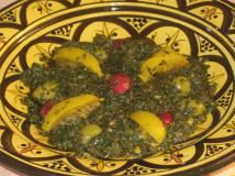 Use Your Preserved Lemons in These Moroccan Recipes: Spinach Salad with…