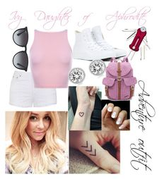 """""""Ivy Daughter of Aphrodite"""" by maliahermerding on Polyvore featuring Victorinox Swiss Army, Ally Fashion, Lauren Conrad, Ray-Ban, Converse, Herschel Supply Co. and Michael Kors Victorinox Swiss Army, Herschel Supply Co, Aphrodite, Lauren Conrad, Ivy, Daughter, Michael Kors, Polyvore, Image"""