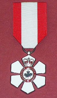 The Order of Canada (French: Ordre du Canada) is a Canadian national order, admission into which is the second highest honour for merit in the system of orders, decorations, and medals of Canada. It comes second only to membership in the Order of Merit, which is within the personal gift of Canada's monarch.