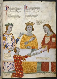 Carmina Regia (Tuscany, c. 1335):