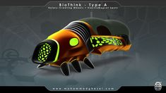 BioThink, a futuristic vehicle for future mega-cities where we need sufficient and sustainable transportation for personal mobility on the streets.   curated by @missmetaverse www.futuristmm.com #futurist #futurology #futurism #futuristic #futuretransportation #futuristiccar #technology #cyber #future Technology World, Futuristic Technology, Futuristic Cars, Computer Technology, Sustainable Transport, Sustainable Energy, Type A Type B, Future Transportation, Technology Background