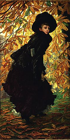 """October"" (1877) - James Tissot"