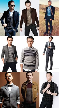 """Would love to just flat out copy Joseph Gordon-Levitt's style."""