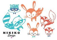 Weiteres - Plottervorlage WaldFreunde (gewerblich) - ein Designerstück von nikiko bei DaWanda