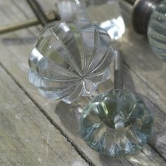 These glass door knobs, which come in 2 stunning designs and shapes are a brilliant way to bring new life to a tired piece of furniture. The density of the glass gives them a luxurious weighty feel. Add to an old, rustic piece of furniture for a touch of elegance and glamour. Handmade by an artisan in Rajasthan. £8.95