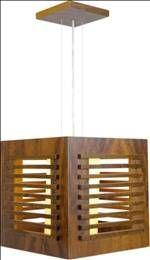 artetecta : Madeira ganha forma em pendentes, abajures, plafons, colunas e arandelas