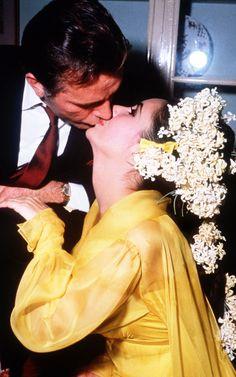 elizabeth taylor and richard burton's wedding — march 15, 1964
