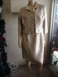 LAURA K DRESS & JACKET, MOTHER OF THE BRIDE DRESSES, SIZE 14 FORMAL WEAR, SIZE 14 MOTHER OF THE BRIDE DRESSES, LAURA K DRESSES